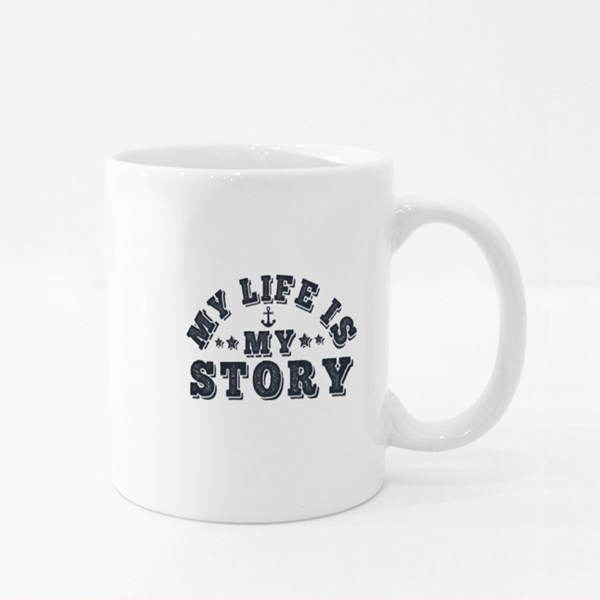 My Life Is My Story Colour Mugs