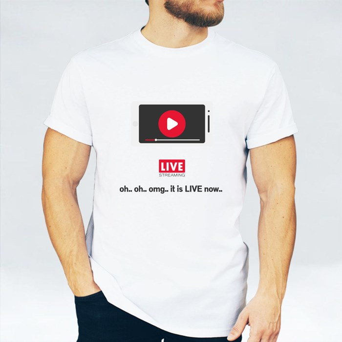 Oh.. Oh.. Omg.. It Is Live Now T-Shirts