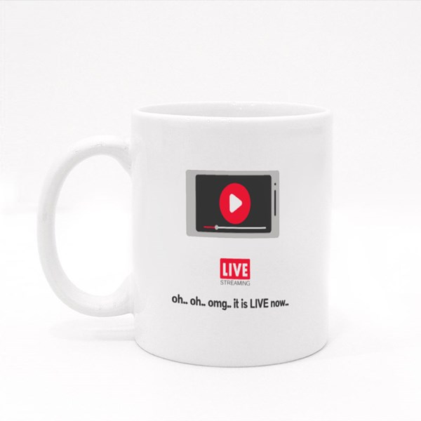 Oh.. Oh.. Omg.. It Is Live Now Colour Mugs