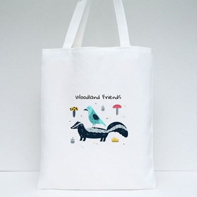 Woodland Friends Tote Bags