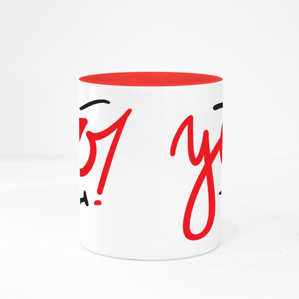 Yoo! With Smile Colour Mugs