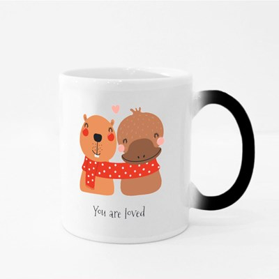 You Are Loved Friends Magic Mugs
