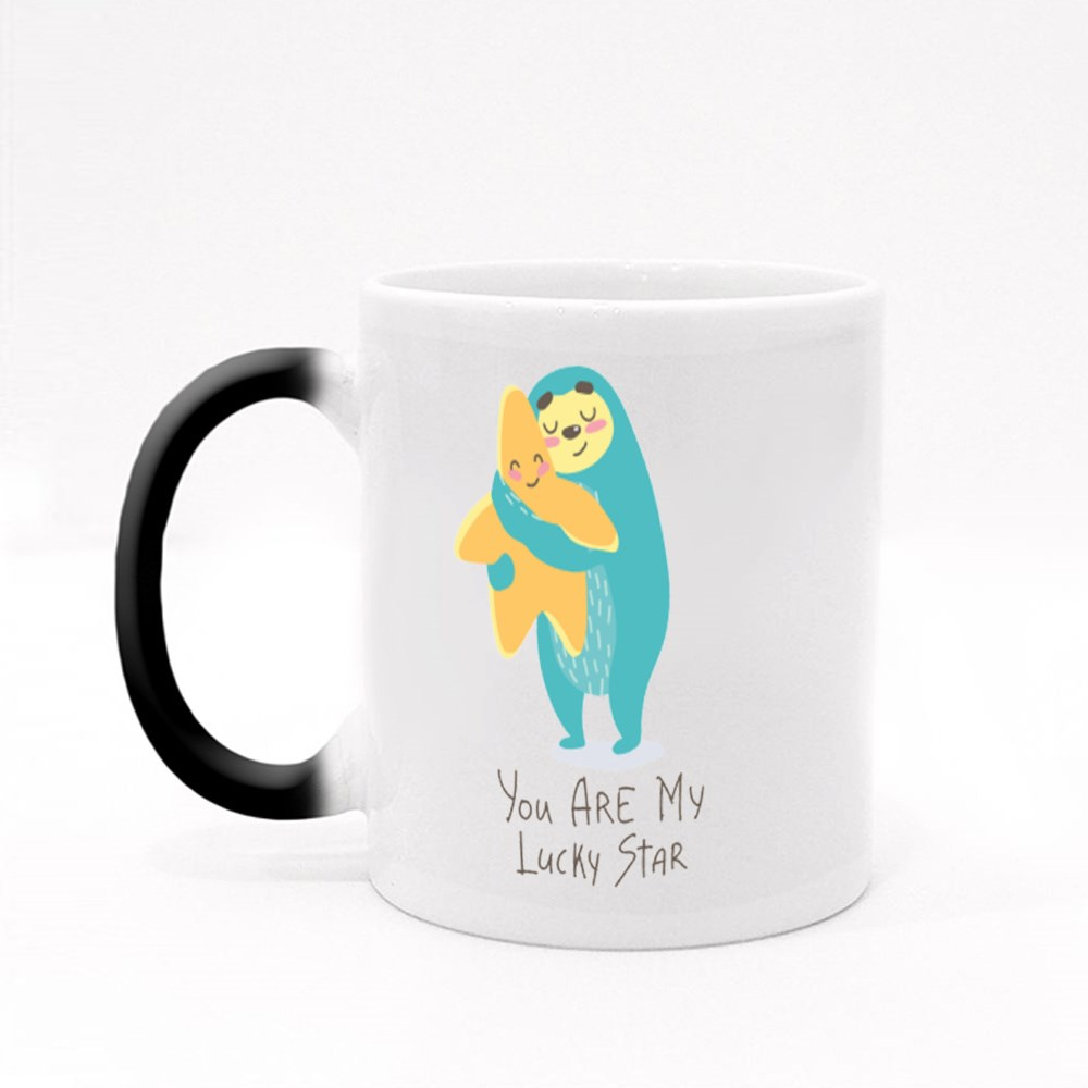 You Are My Lucky Star Magic Mugs