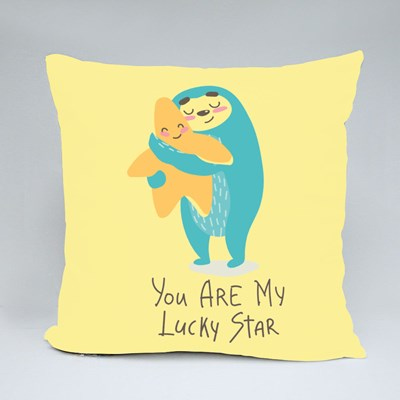 You Are My Lucky Star Throw Pillows