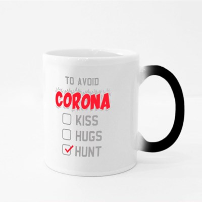 To Avoid Corona Hunt Magic Mugs