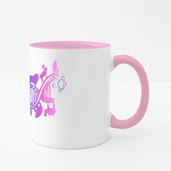 Evolution Tattoo Colour Mugs
