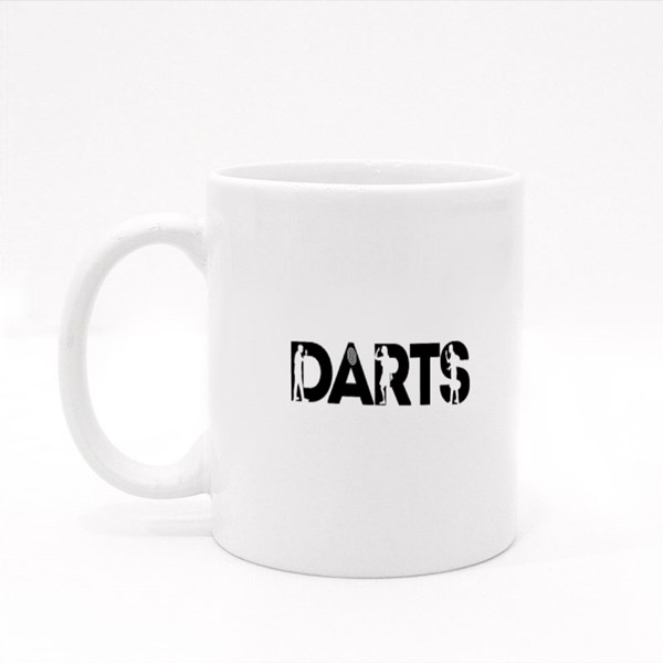 Darts With Darts Player Colour Mugs