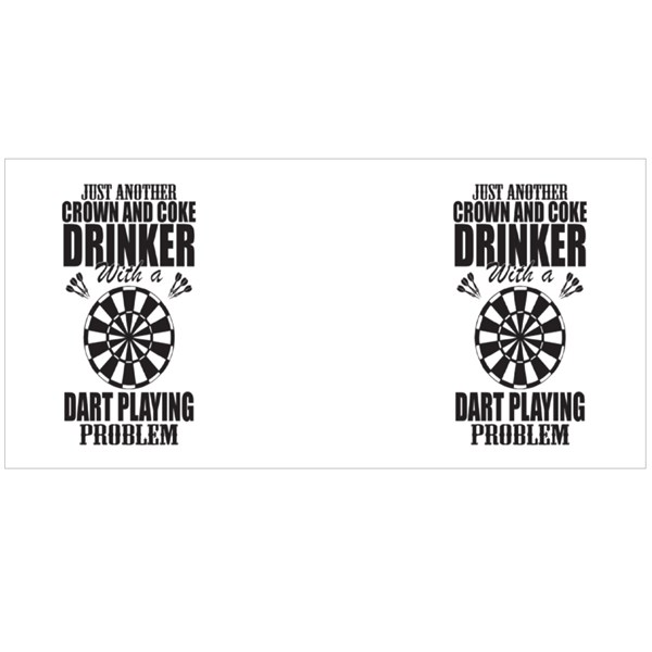 Dart Playing Problem Colour Mugs