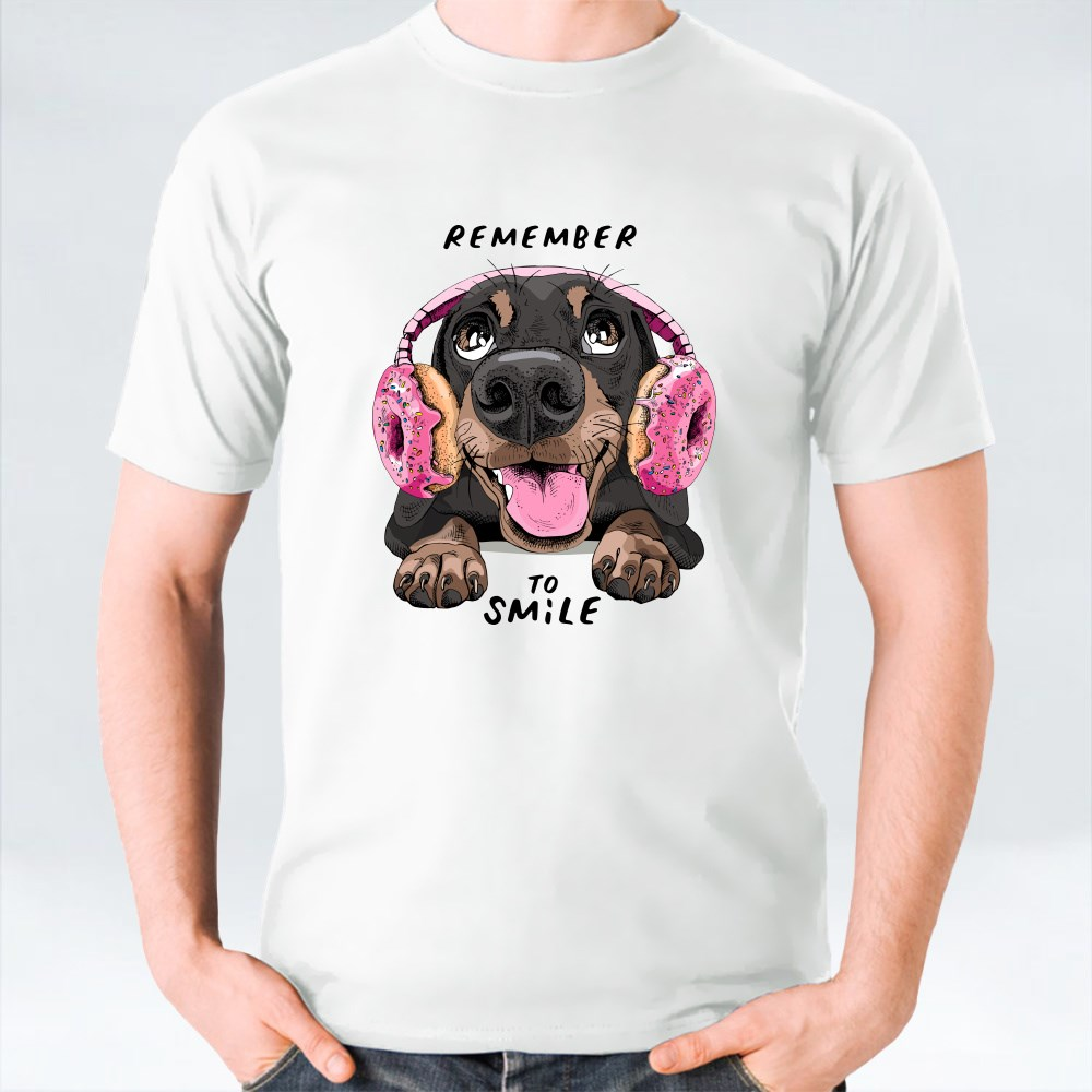 Portrait Smiling Funny Do T-Shirts
