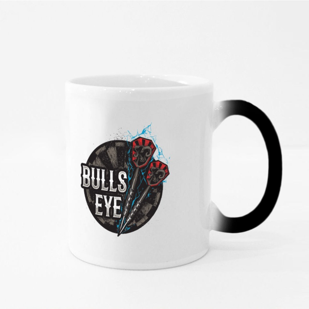 Darts Bulls Eye Magic Mugs