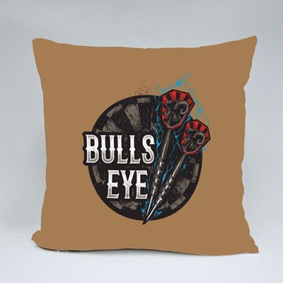 Darts Bulls Eye Throw Pillows