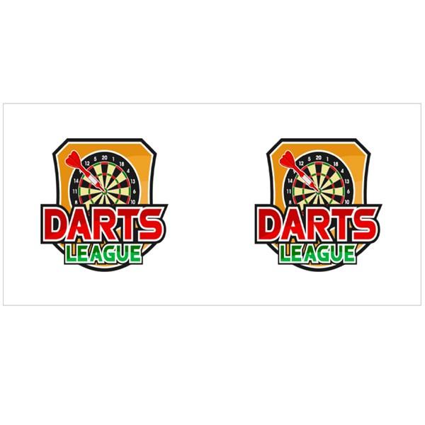 The Darts League Colour Mugs