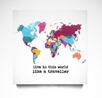 Live in This World Like a Traveller