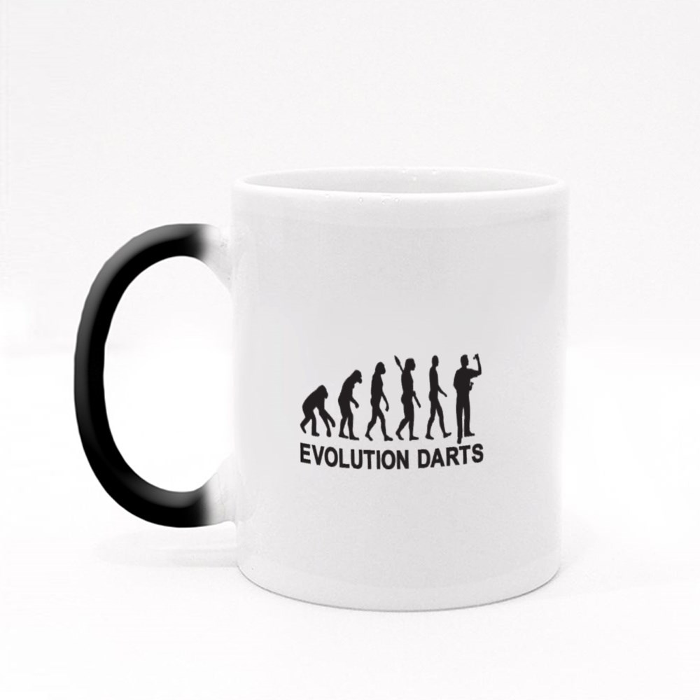 Darts Evolution Magic Mugs