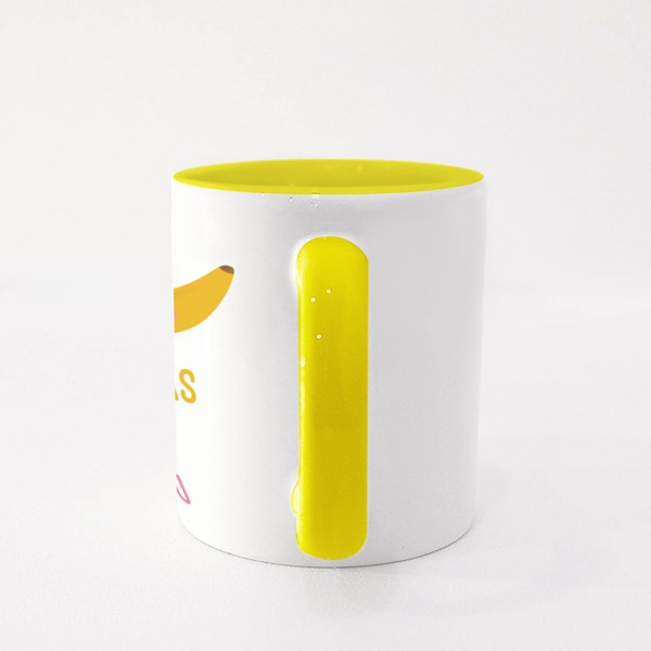 I'm Bananas for You Colour Mugs