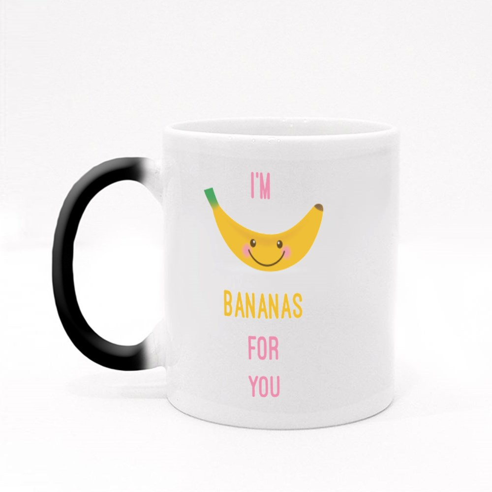 I'm Bananas for You Magic Mugs