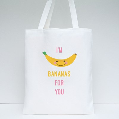 I'm Bananas for You Tote Bags