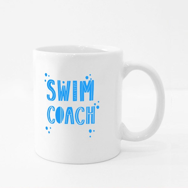 Them Swim Coach Colour Mugs