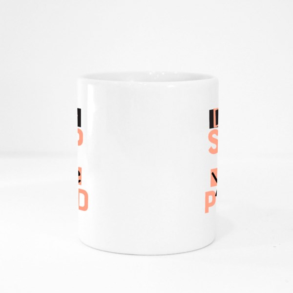 Don't Stop Until You're Proud Colour Mugs