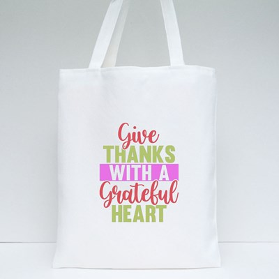 Give Thanks With a Grateful Tote Bags