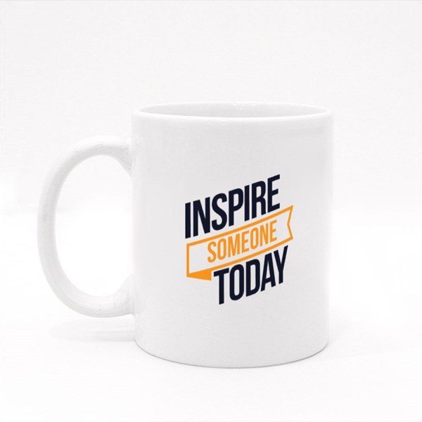 Inspire Someone Today Colour Mugs