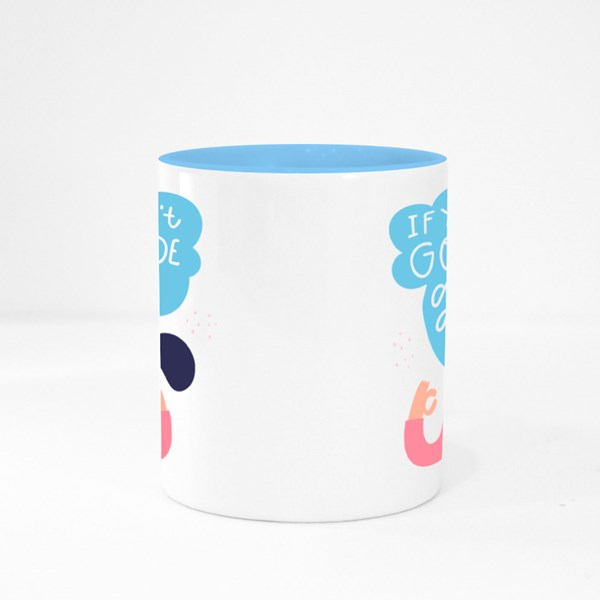 Quarantine Meditating Colour Mugs