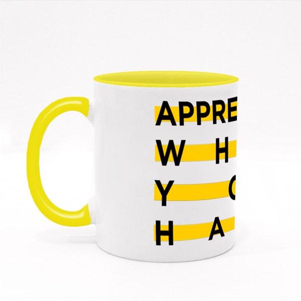 Appreciate What You Have Colour Mugs
