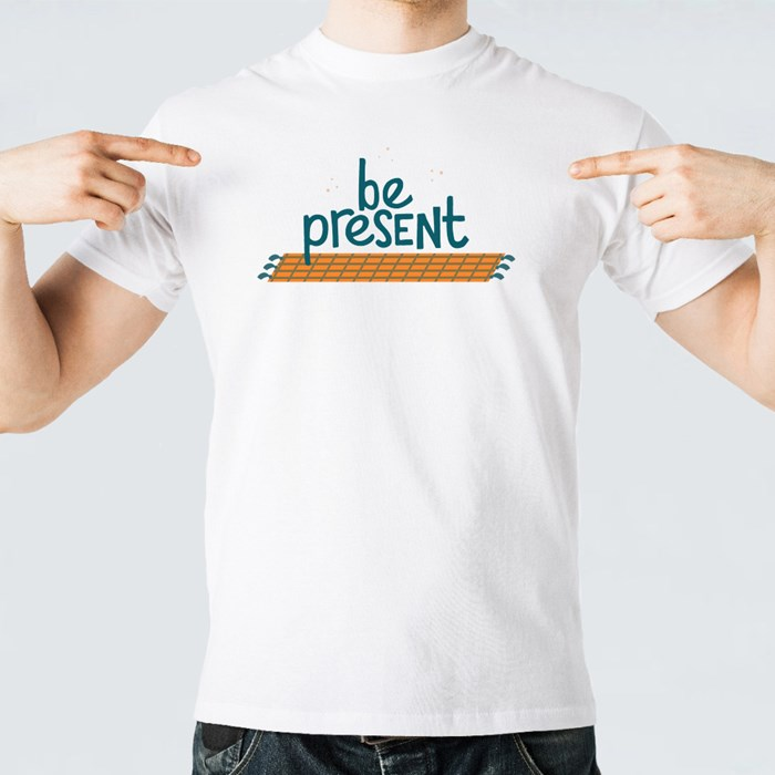 Inspiring to Be Present T-Shirts