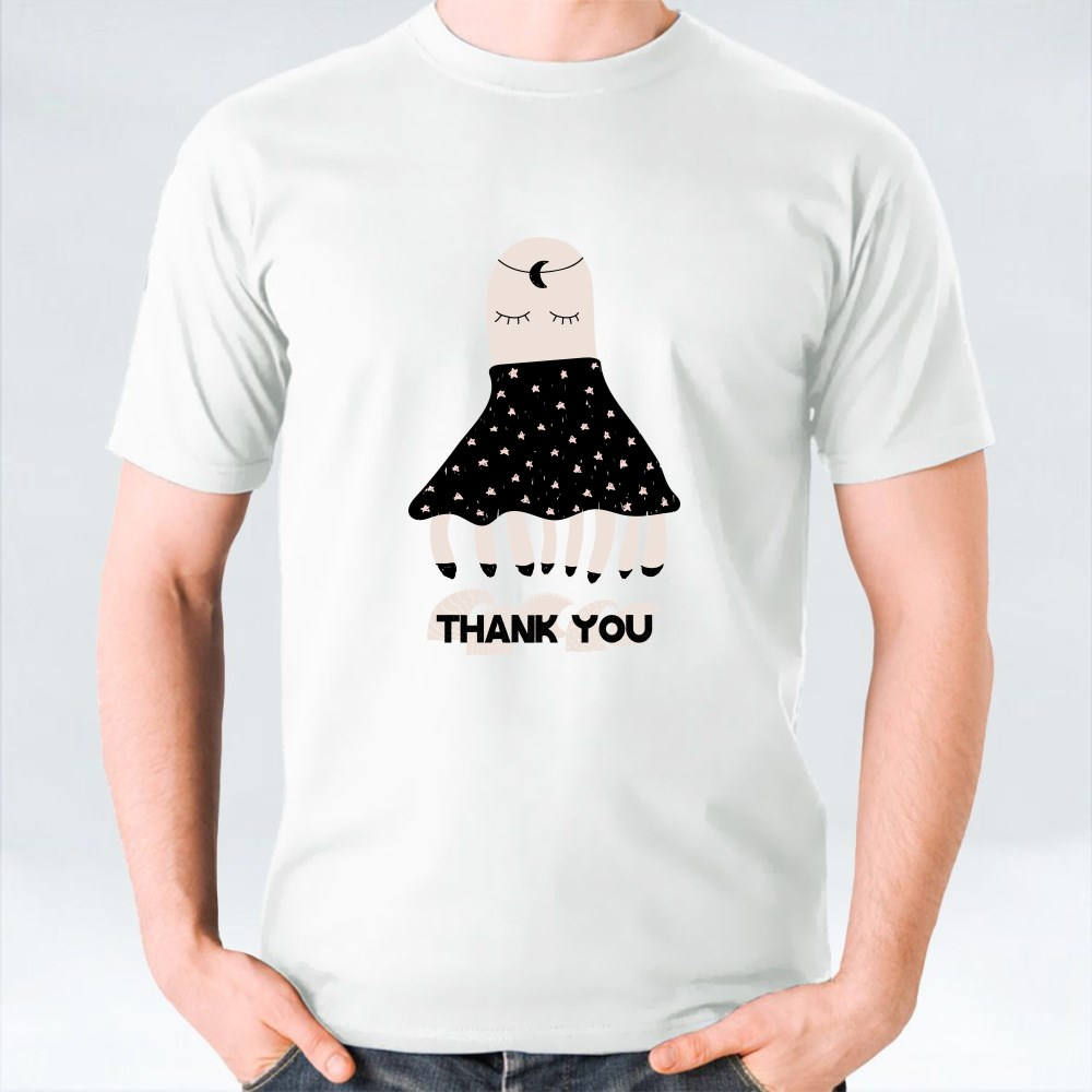 Thank You With Octopus T-Shirts