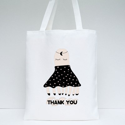 Thank You With Octopus Tote Bags