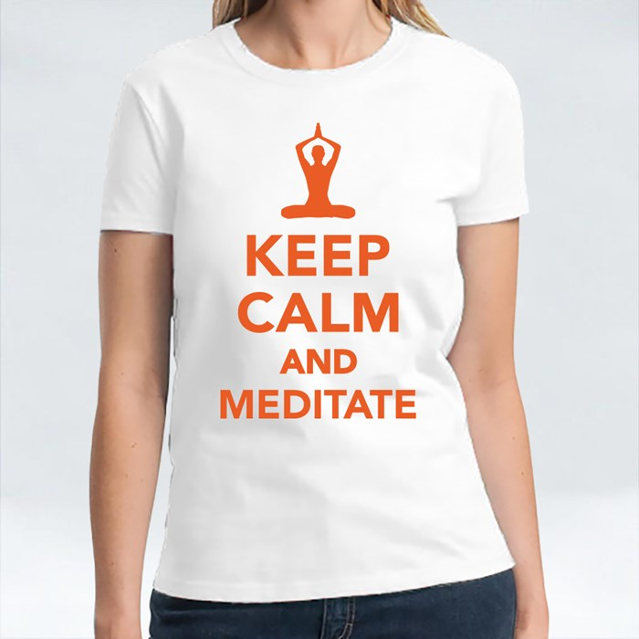 Keep Calm and Meditate T-Shirts