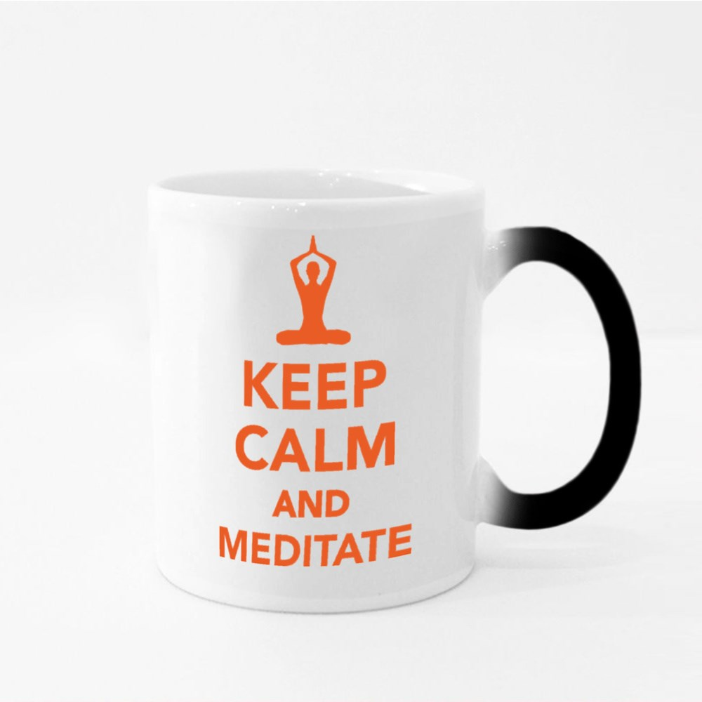 Keep Calm and Meditate Magic Mugs