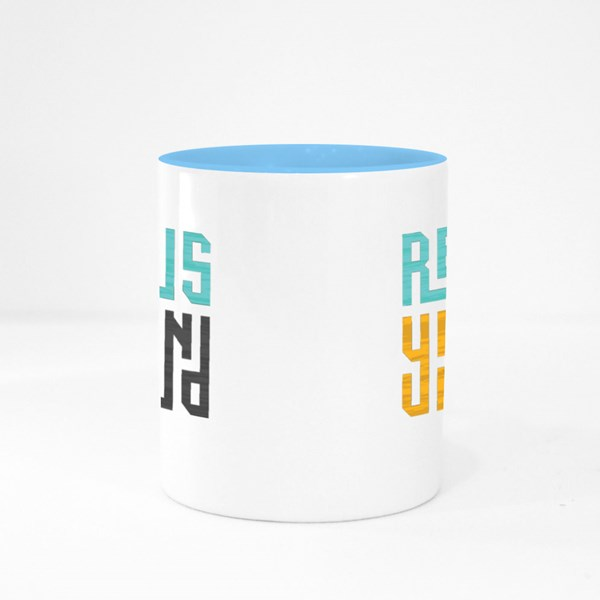 Refocus Your Mind Colour Mugs