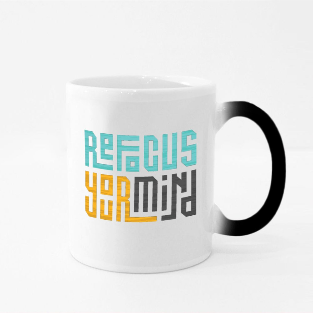 Refocus Your Mind Magic Mugs