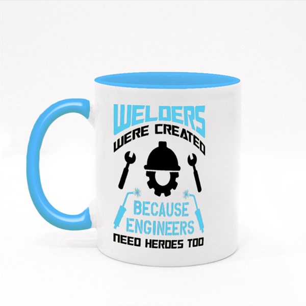 Engineers Need Heroes Too 彩色杯