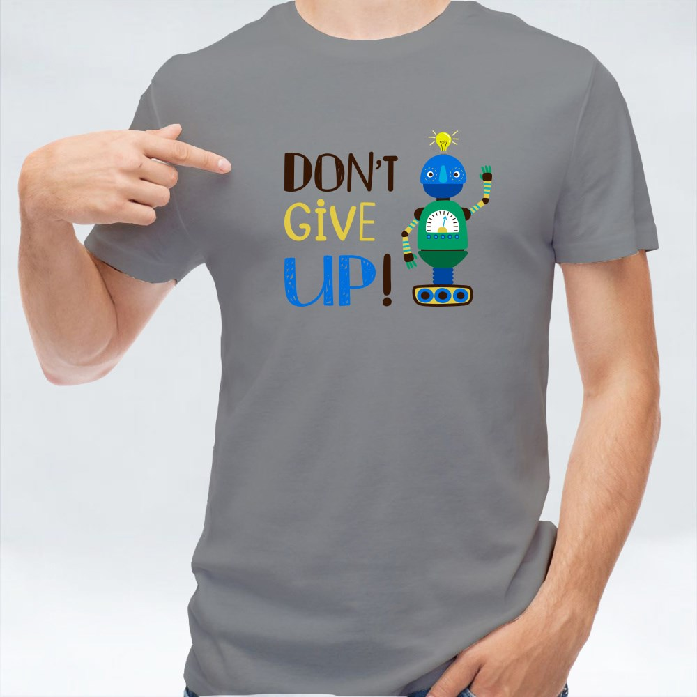 Positive Vibe Don't Give Up T-Shirts