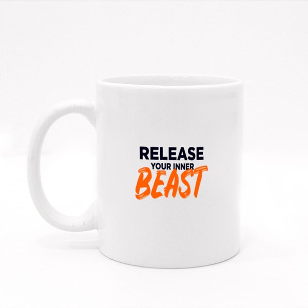 Release Your Inner Beast Colour Mugs