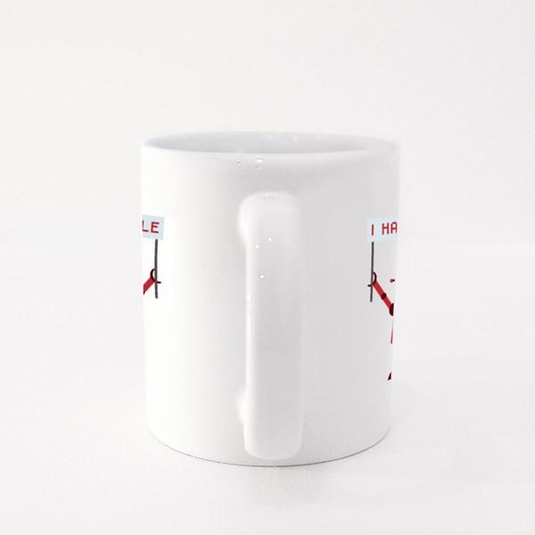 Robot I Hate People Colour Mugs