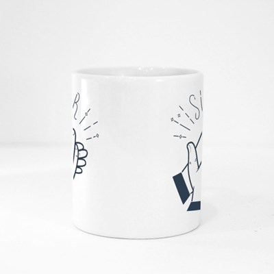 Icon Clapping Hands Magic Mugs