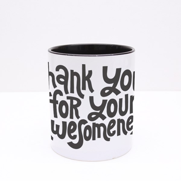 Thank You for Your Awesomeness Colour Mugs