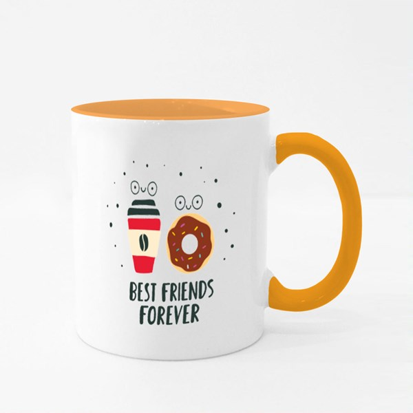 Best Friends Forever Colour Mugs