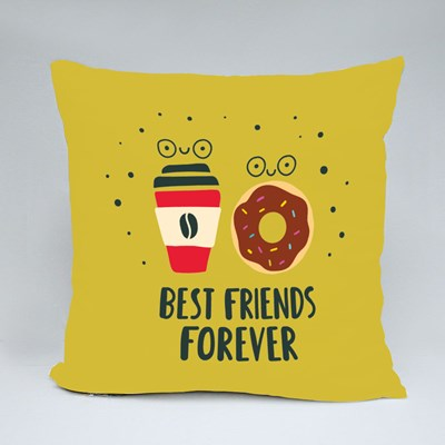 Best Friends Forever Throw Pillows
