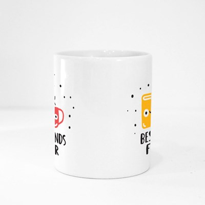 Book and Coffee Cup Magic Mugs