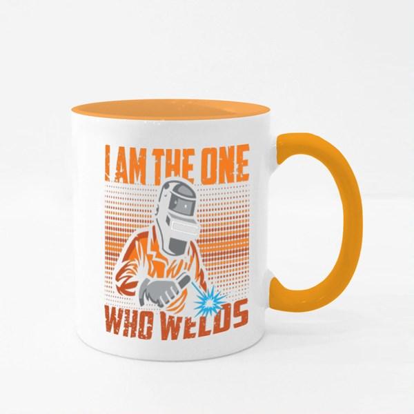 I Am the One Who Welds Colour Mugs