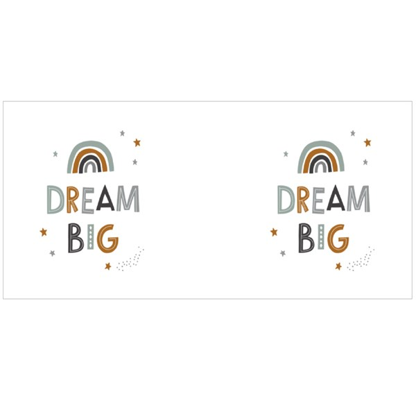Dream Big Colourful Rainbow Colour Mugs