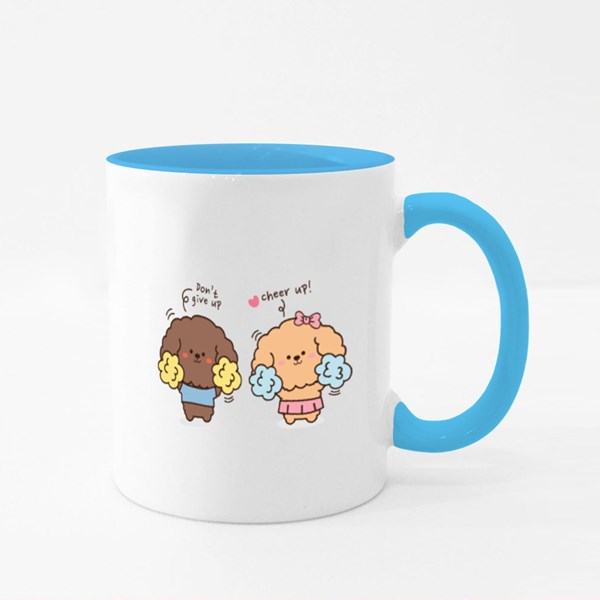 Puppy Cheer Up! Colour Mugs