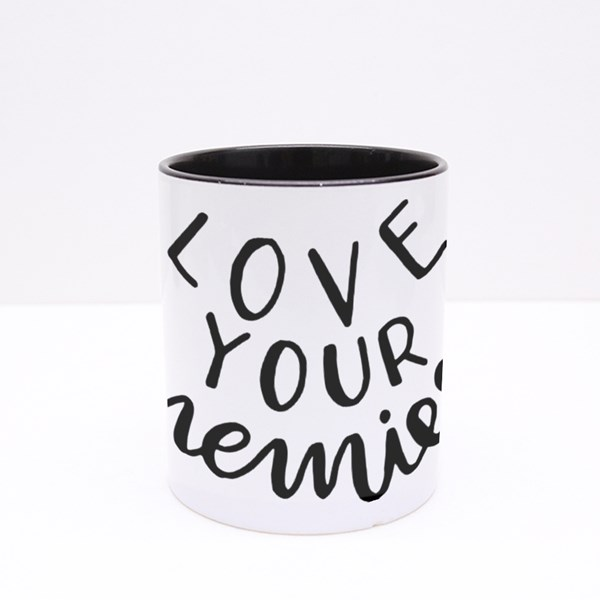 Love Your Enemies Colour Mugs