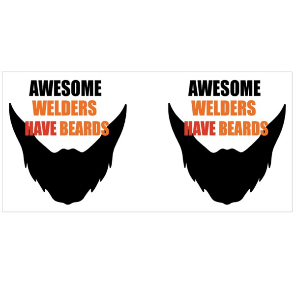 Awesome Welders Have Beards Colour Mugs