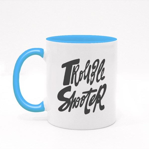 Trouble Shooter. 彩色杯