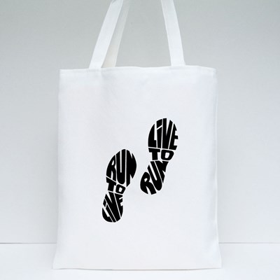 Live to Run Run to Live Tote Bags